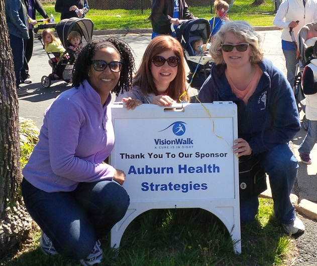 Auburn Health Strategies supports research efforts to cure retinal degenerative diseases through its VisionWalk team.